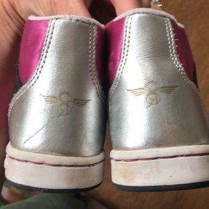Creative Recreation Shoes - Creative Recreation girls pink satin high top 12